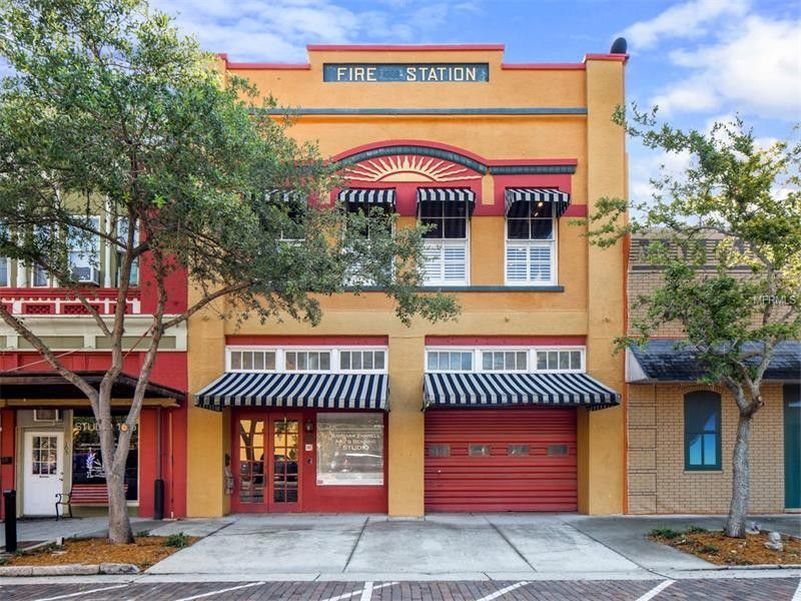 This Fire Station Turned into home in Sanford, Florida is Available for Rent on Airbnb