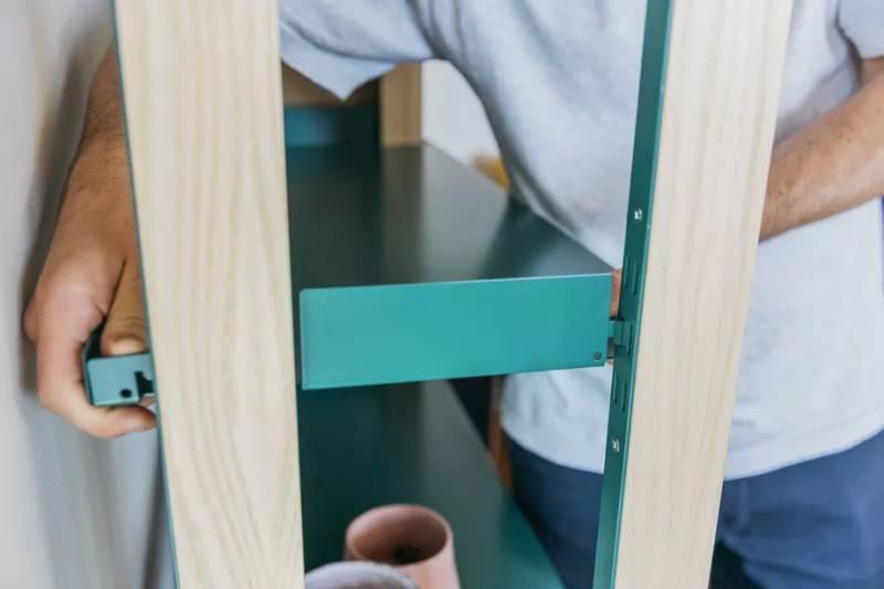 Modular shelving system the shelf by Floyd