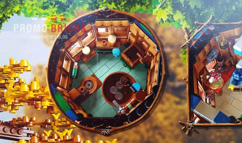 Official LEGO Ideas Treehouse Set at LegoLand