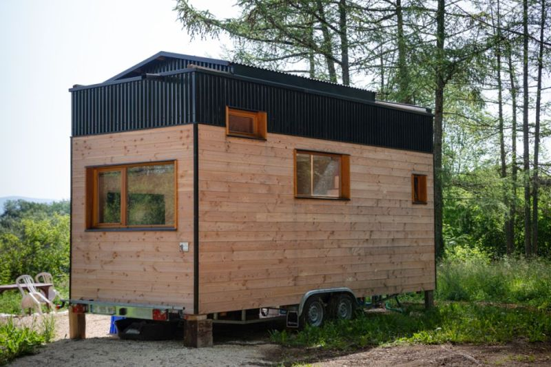 Optinid Creates Tiny House Franck with its Exclusive Sliding Roof