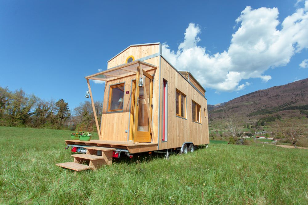 Optinid Head to the Stars Tiny house on wheels
