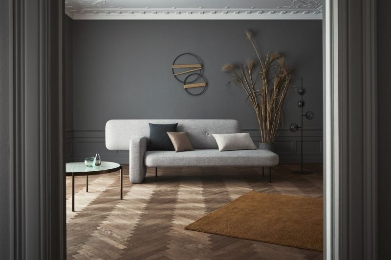 Santiago Bautista Designs Pebble Sofa with Modular Functionality