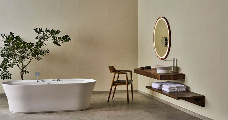 Porcelanosa Foster Amp Partners Team Up For Tono Bathroom Collection
