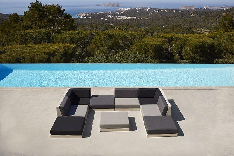 Ramón Esteve Designs Pixel Outdoor Modular Sofa for Vondom