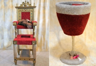 SQUARE Paws Makes Cat Thrones, Watchtowers, and More