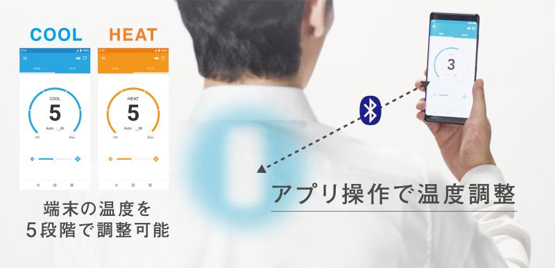 Sony is Crowdfunding Reon Pocket Wearable Air Conditioner
