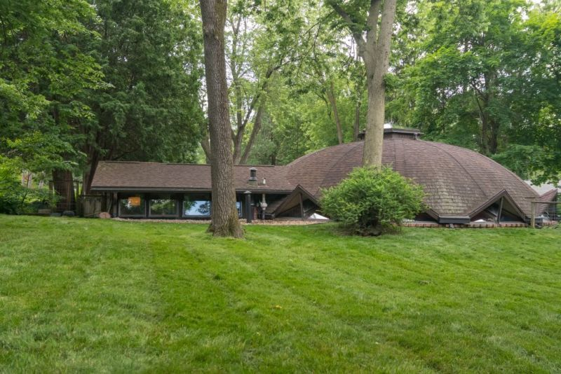 This Dome Home in Madison,Wisconsin can be Yours for $449K