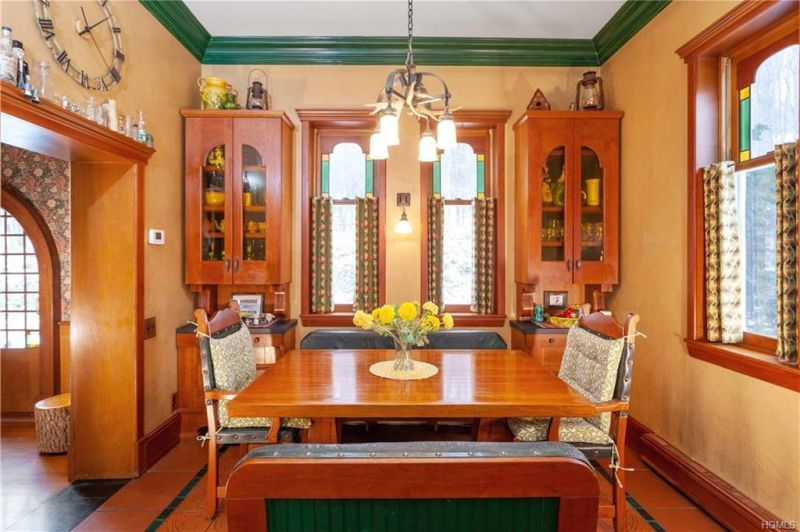 This Old Train Station Converted into a Home in New York is Up for Sale