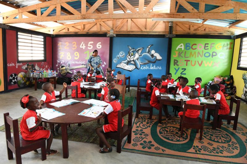 UNICEF's Initiative to Build Classrooms from Recycled Plastic Bricks in Ivory Coast
