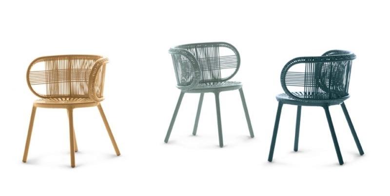 Werner Aisslinger CIRQL Outdoor Furniture Collection for Dedon