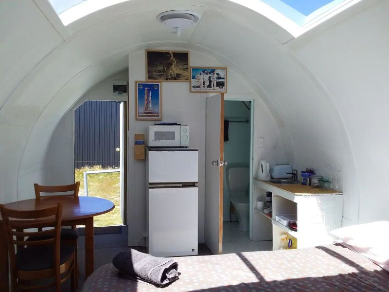 You can Rent This Apollo Spaceship Replica in New Zealand on Airbnb