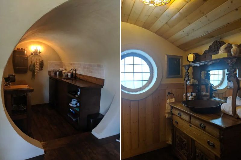 This Hobbit House Rental in British Columbia