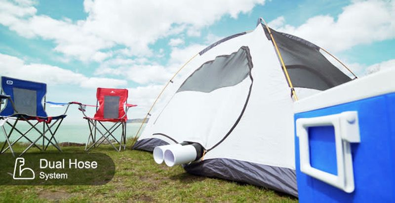 Zero Breeze Introduces Mark II Battery-Powered Portable Air Conditioner for Camping