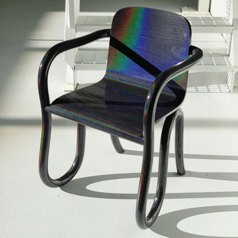 Moon inspired Kolho chair from Made by Choice