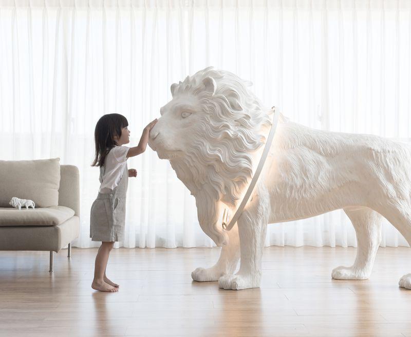 Haoshi's lion X lighting: Let the Lion Light guard your Kingdom