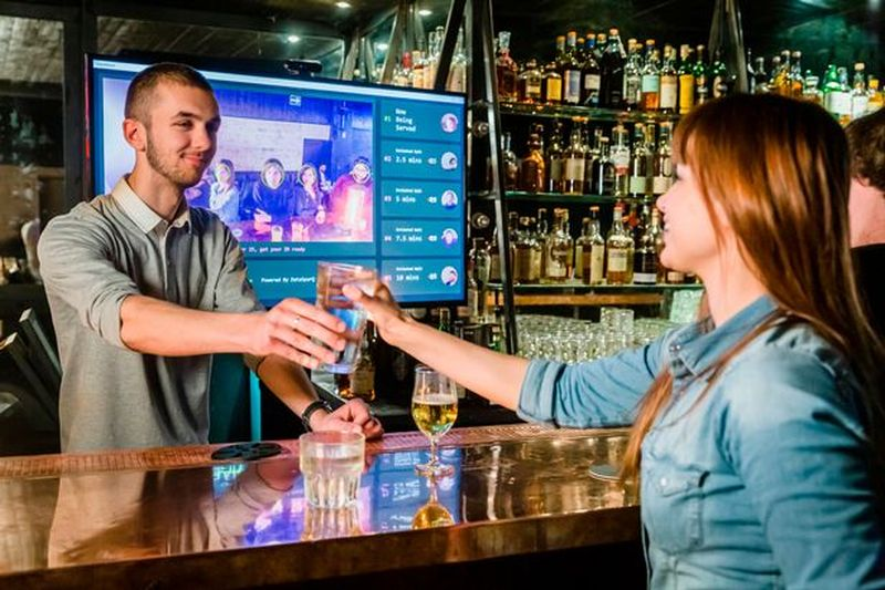 World's First AI Bar Technology Launched in London