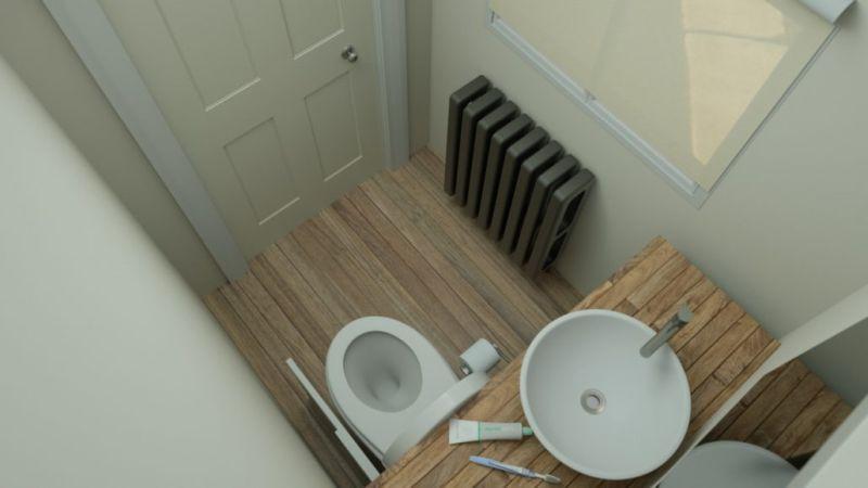 Hidealoo: A Retractable Toilet Seat Designed by Monty Ravenscroft