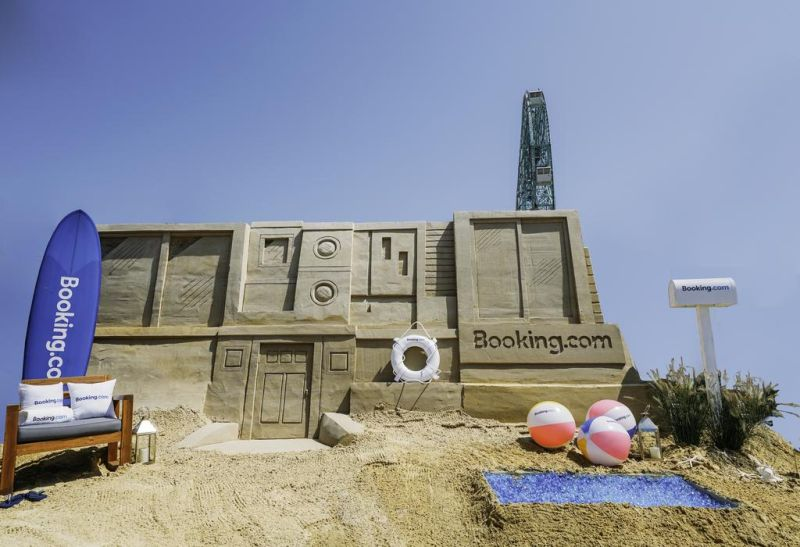 Booking.com is Offering Once-in-a-Lifetime Chance to Stay in a Sand Mansion