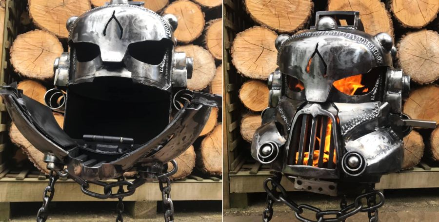 Burned by Design Talos Wood Burner - Alex Dodson