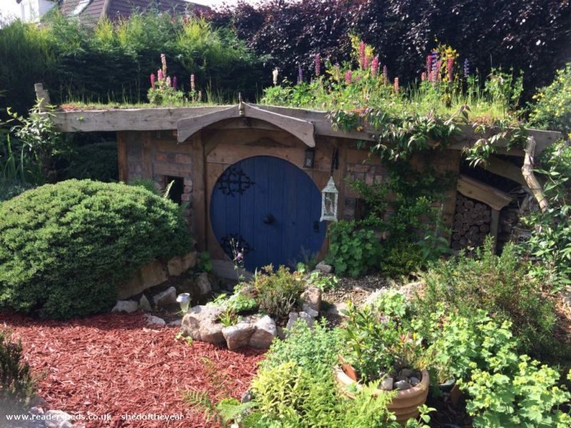 Bux End shed by Chris Hield - Shed of the Year competition