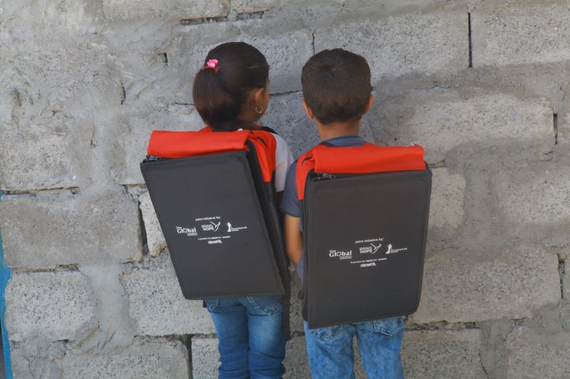 Deskit by Prosoc is a Backpack