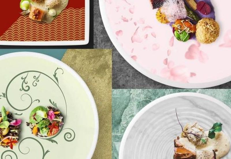 Panasonic's DishCanvas Creates Moving Imagery on Your Plates, Makes eating more Pleasurable