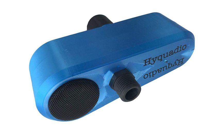 Hyquadio Water-Powered Bluetooth 4.0 Shower Speaker
