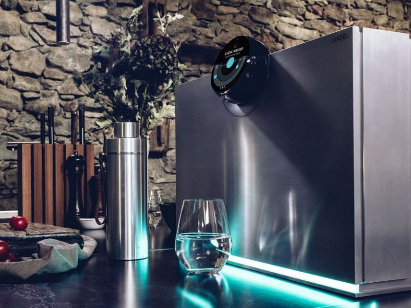 LUQEL Water Station Purifies, Mineralizes Water to Improve Taste Experience