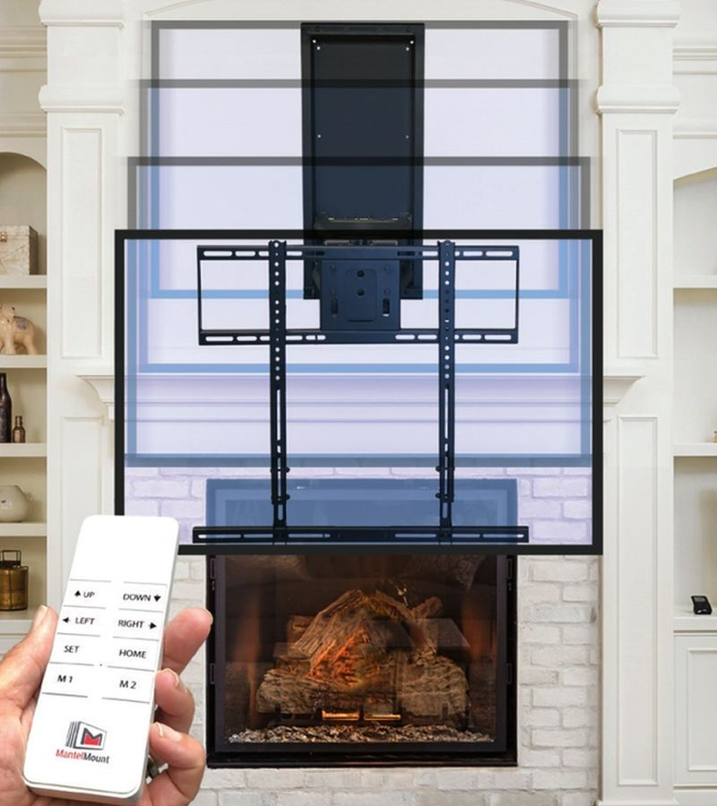 Mantelmount Introduces Smart Home Ready Mm860 Automated Tv Mount