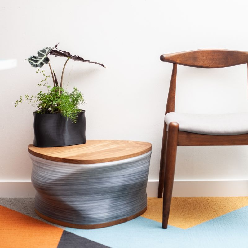 Model No. 3D Printed Furniture and Accessories from Eco-Friendly Materials