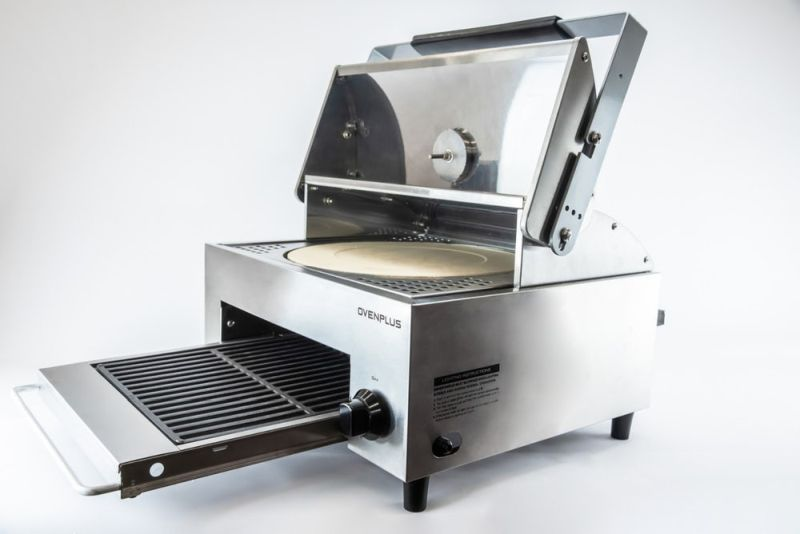 OvenPlus by Lovinflame is Combination of Pizza oven and Smokeless Grill