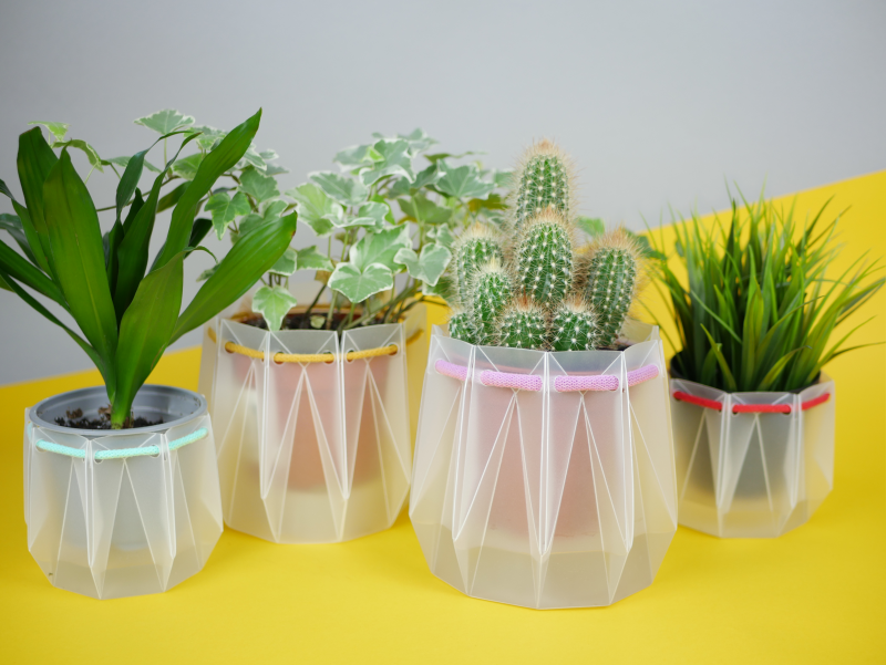 POTR Self-Watering Plant Pots Fit into an Envelope