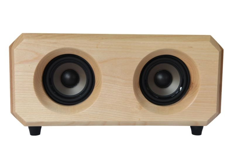 Riverwood Acoustics' Hudson Bluetooth Speaker is Made from 300-Year-Old Wood