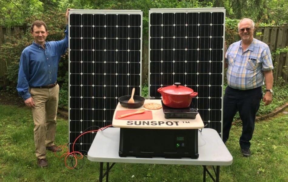 SUNSPOT Solar Electric Cooking System is a Healthy Alternative to Biomass Cooking