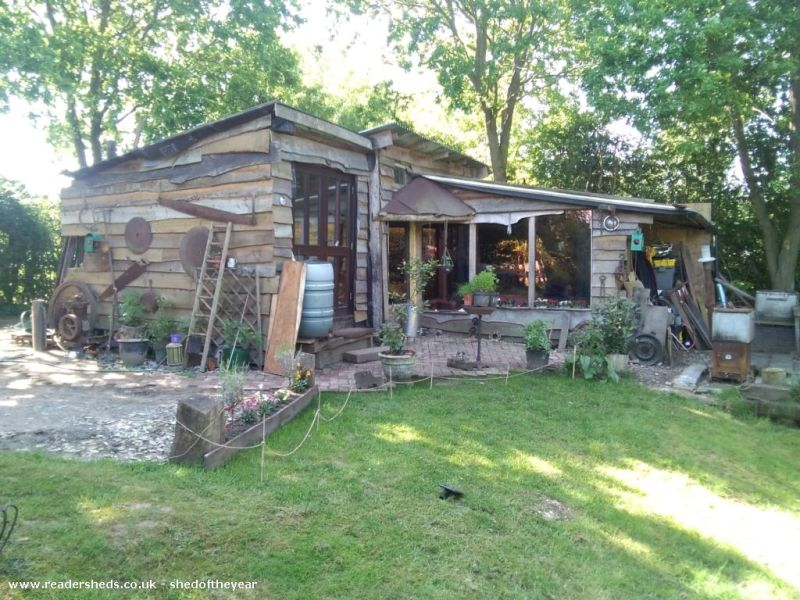 Shack Attack by Justin - Shed of the Year competition