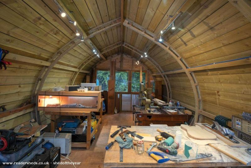 The Ark by Stuart Campbell - Shed of the Year competition