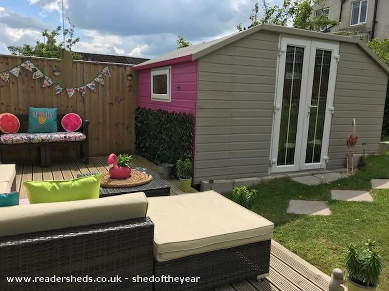The Retro Retreat by Louise Mayoh - Shed of the Year competition