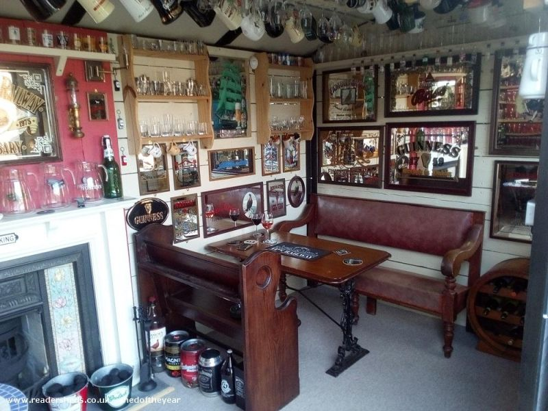 The Wagon shed by Jim and Becky Mills - Shed of the Year competition