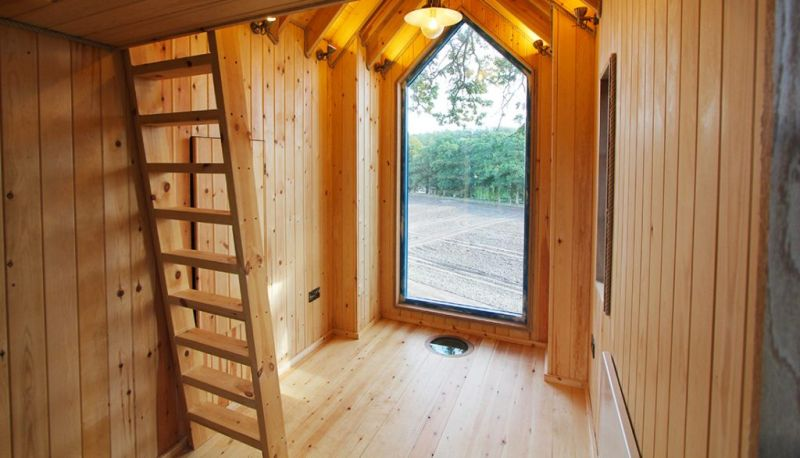 This Treehouse for Kids in Perthshire, UK Features a Slide, Climbing Wall and More