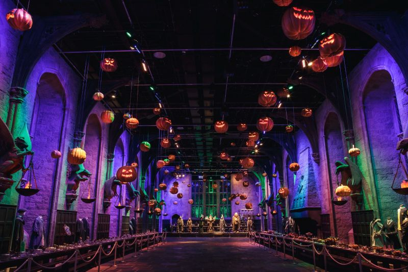 Fans get to Trick or Treat at 'Hogwarts After Dark' with Warner Bros Studio