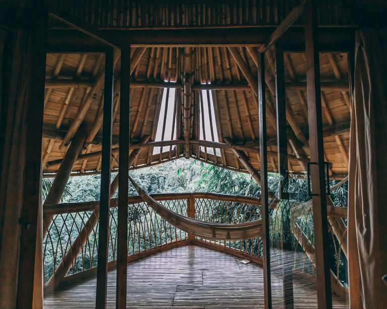 Eco-Friendly Aura House in Lush Green Balinese Forest is Available for Rent on Airbnb
