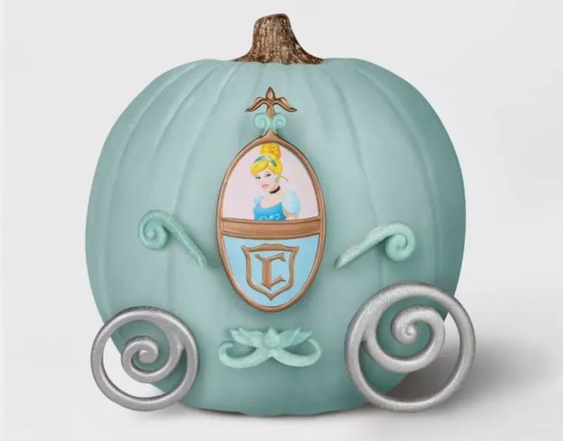 Target's No-Carve Pumpkin Decorating Kits Featuring Disney Characters are Magical