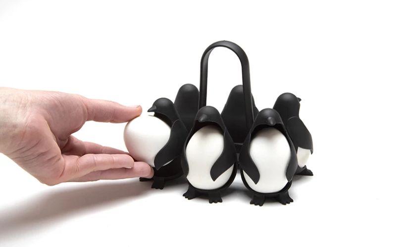 Egguins – An Egg Cooker Inside the Belly of Adorable Penguins