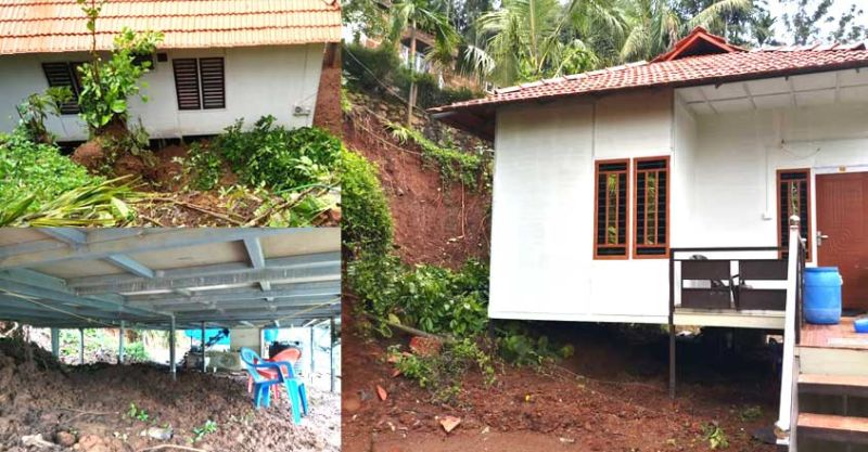 Prefab House in Kerala Withstands a Landslide, Remained Unscathed