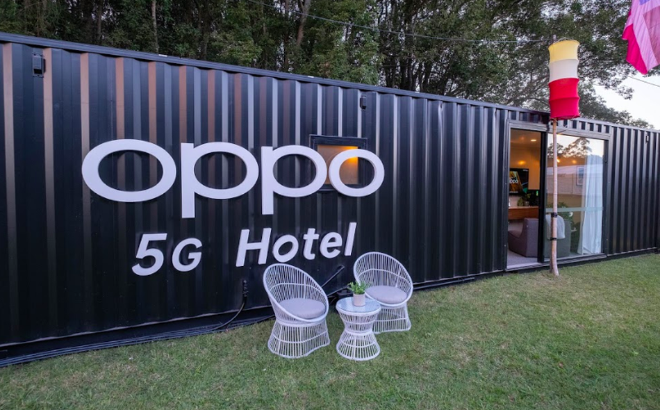 Furthering the Vision Oppo Introduces World's First 5G Hotel