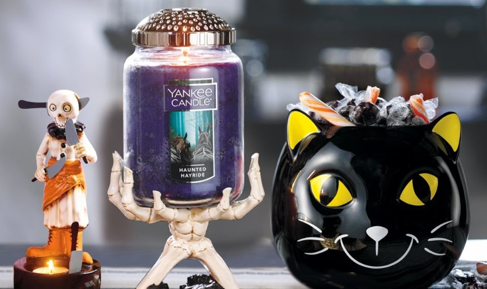 Yankee Candle Launches Halloween collection today with Enchanting Fragrances