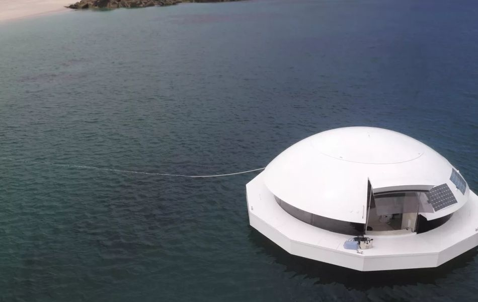 James Bond Movie Inspired Ducancelle to Build Anthenea Floating Pod