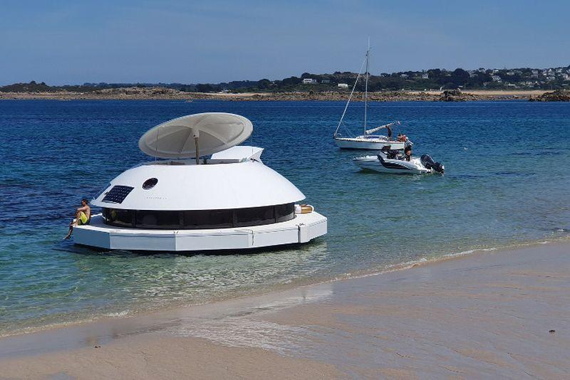 James Bond Movie Inspired Ducancelle to Build Anthenea Floating Pod