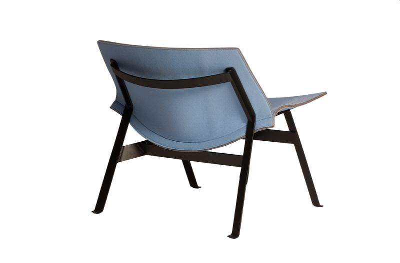 Capdell's Panel Lounge Chair is Blend of Beauty and Leisure