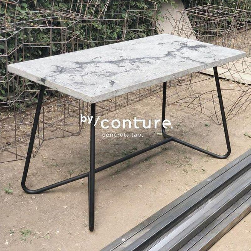 Conture Concrete Lab Presents Concrete Furnishings at Maison and Objet 2019